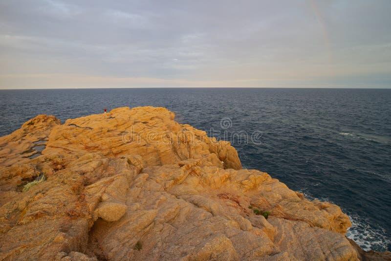 Costa Brava Rocks 02 lizenzfreies stockbild