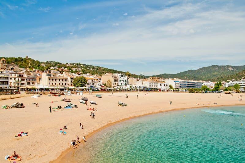Costa Brava Strand stockbild