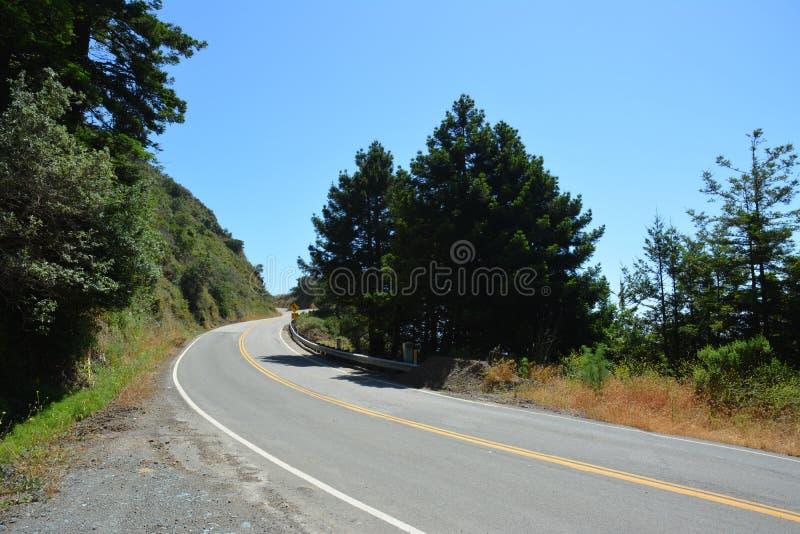 Costa central California HWY 1 de Big Sur imágenes de archivo libres de regalías