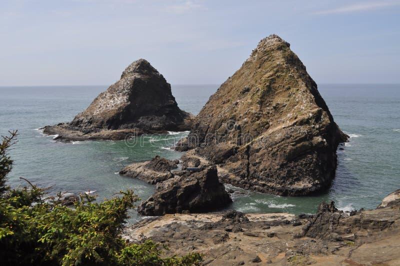 Costa central de Oregon foto de archivo