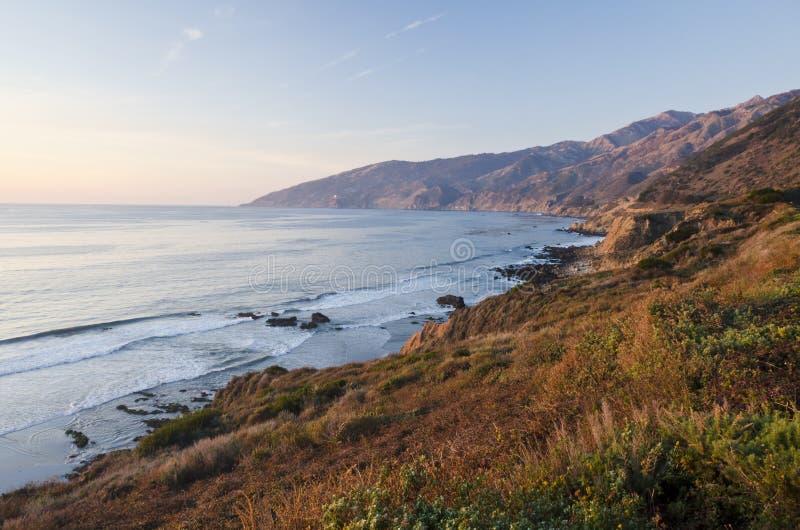 Costa central, Sur grande, Monterey, Califórnia fotos de stock