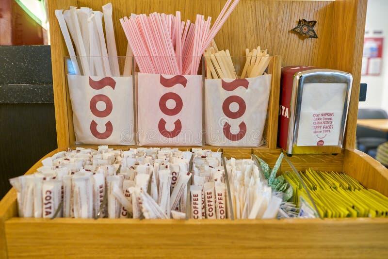 Costa Coffee photo stock