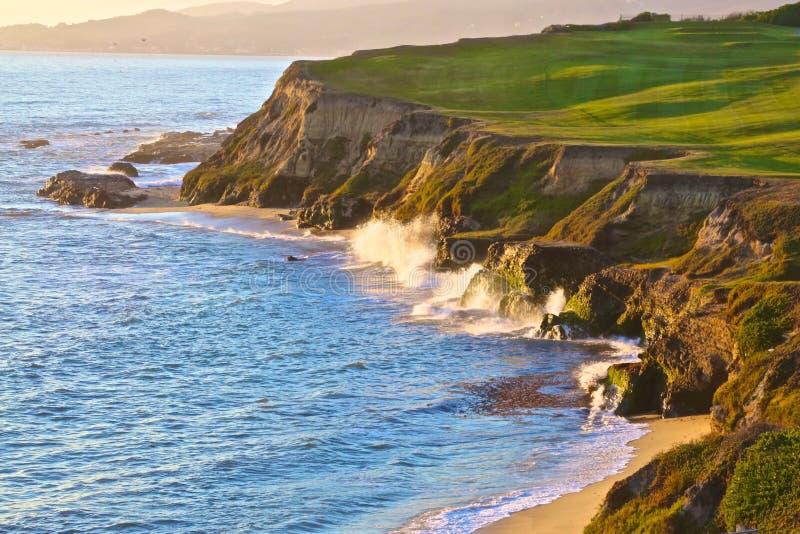 Costa costa California fotos de archivo