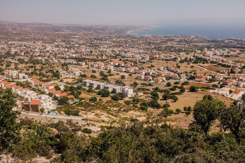 Costa costa Chipre foto de archivo libre de regalías