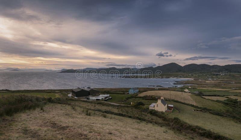 Costa costa de Allihies, corcho del condado, Irlanda fotografía de archivo libre de regalías