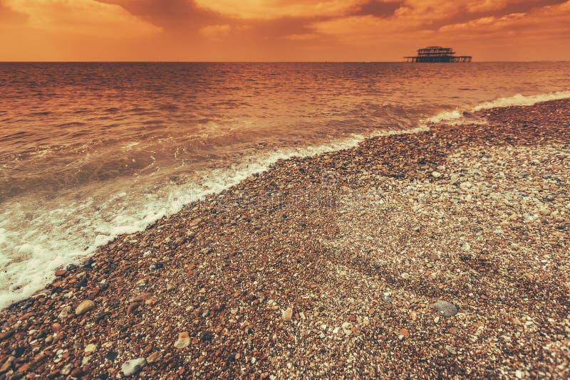 Download Costa costa de Brighton foto de archivo. Imagen de herencia - 41919142