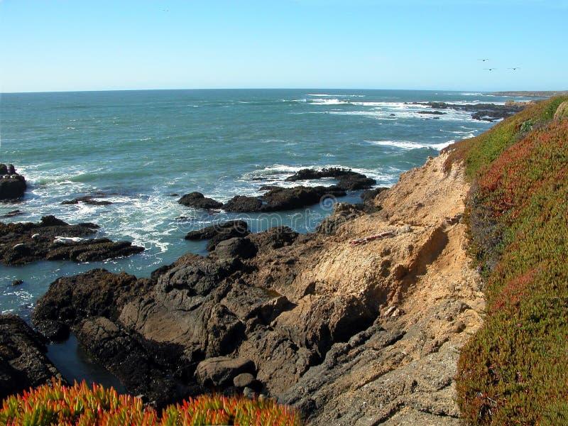 Costa costa de California foto de archivo