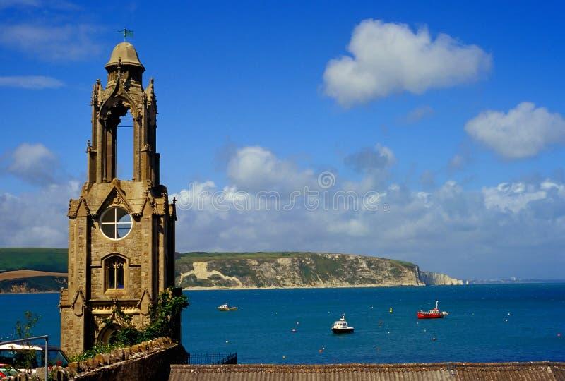 Costa costa de Dorset foto de archivo