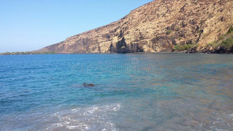 Costa costa de Hawaii fotos de archivo libres de regalías