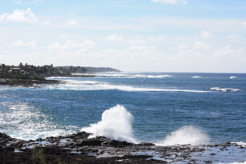 Costa costa de Kaua'i fotos de archivo