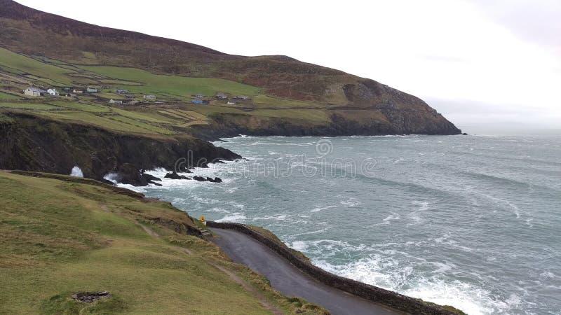 Costa costa de Kerry imágenes de archivo libres de regalías