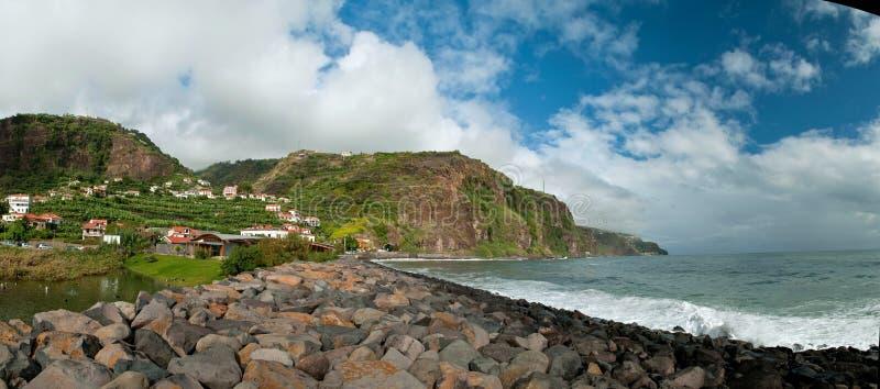 Costa costa de Madeira foto de archivo libre de regalías
