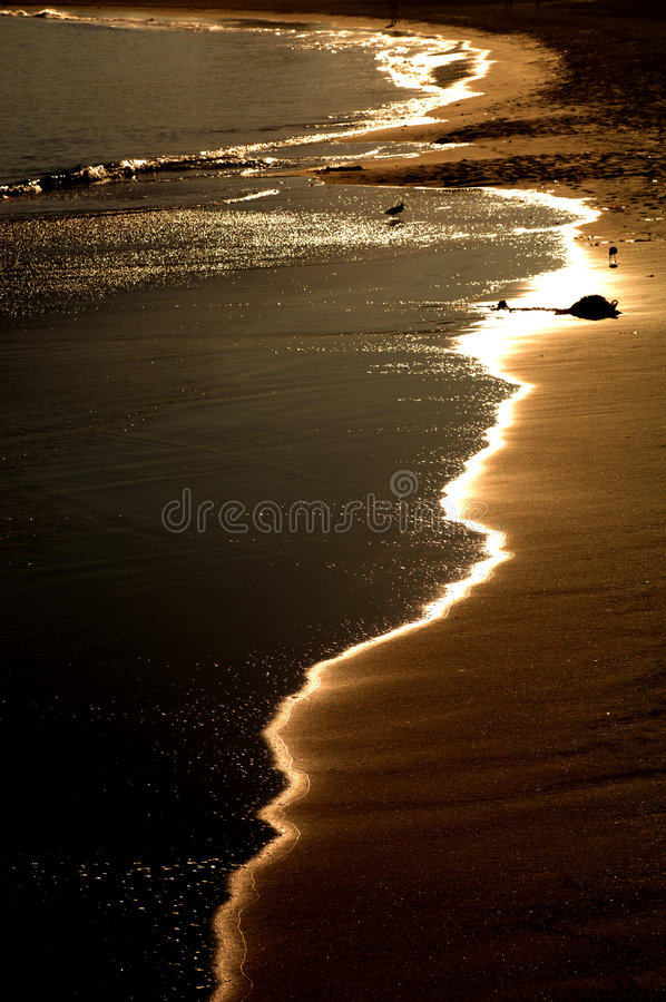 Costa costa de Monterey imagen de archivo