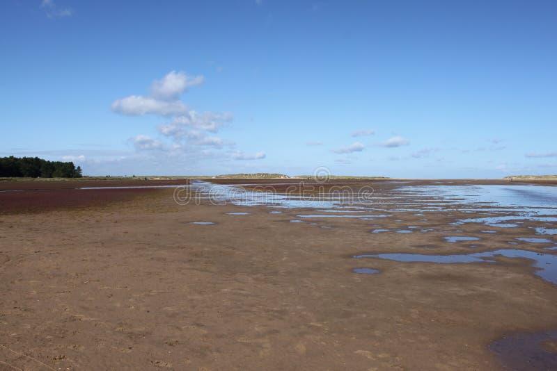 Costa costa de Norfolk imagen de archivo
