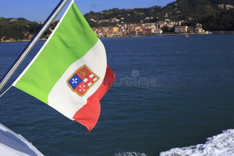 Costa costa de Spezia del La fotografía de archivo libre de regalías