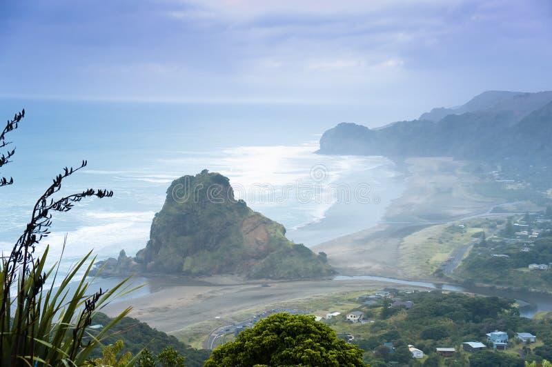 Costa costa del oeste salvaje fotos de archivo libres de regalías