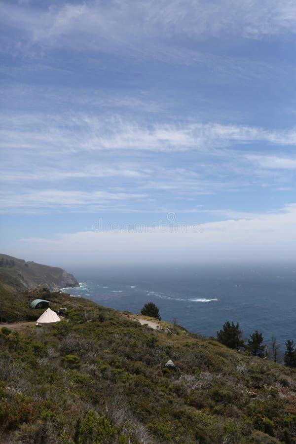Costa costa grande de Sur California fotografía de archivo libre de regalías