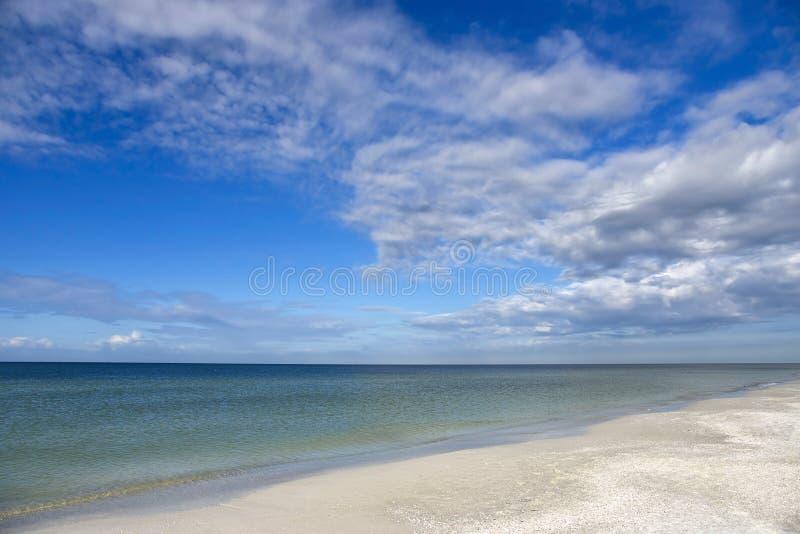 Costa costa hermosa de la Florida imagenes de archivo