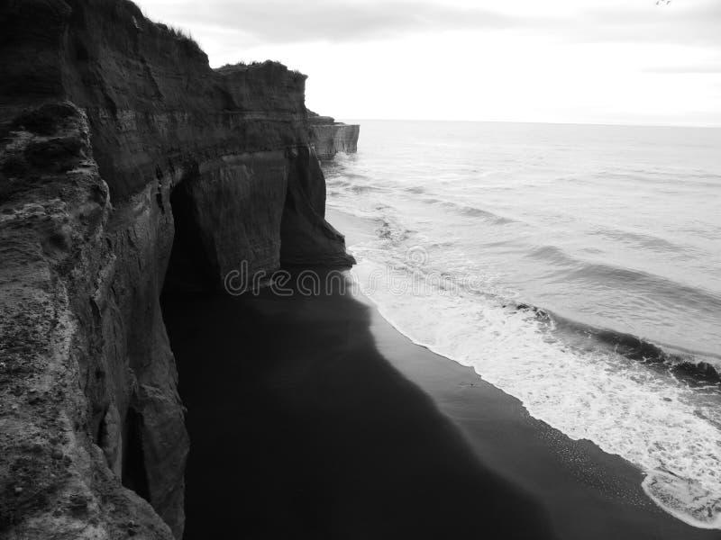Costa costa impresionante fotografía de archivo