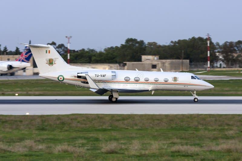 Costa d'Avorio Gulfstream fotografia stock