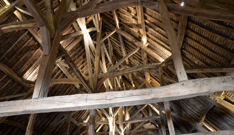 Costa d ou, o castelo pitoresco de Le Clos de Vougeot em Bourg foto de stock royalty free