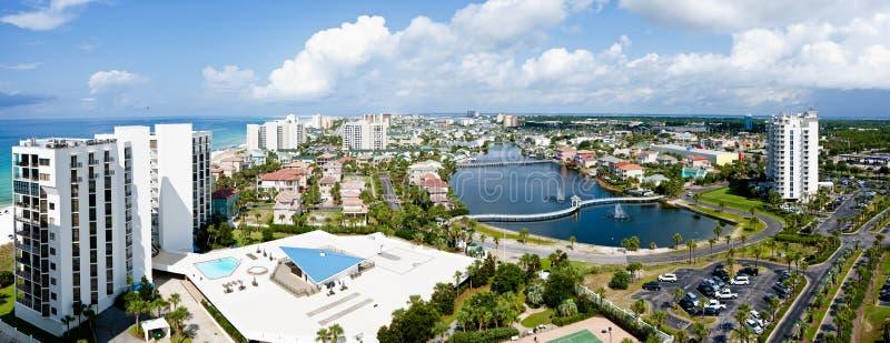 Costa da esmeralda de Destin Florida imagens de stock