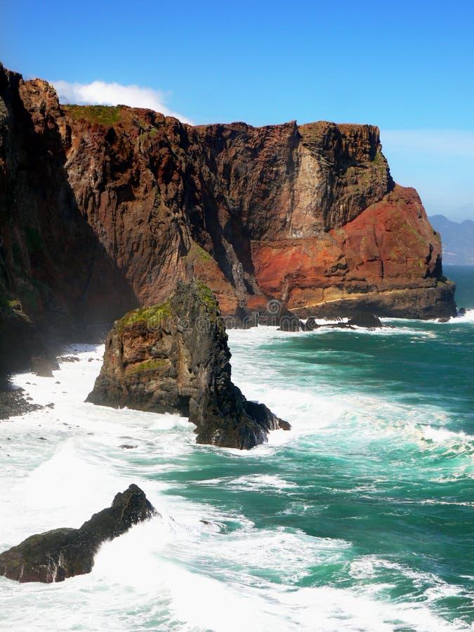 Costa da ilha de Madeira fotos de stock royalty free