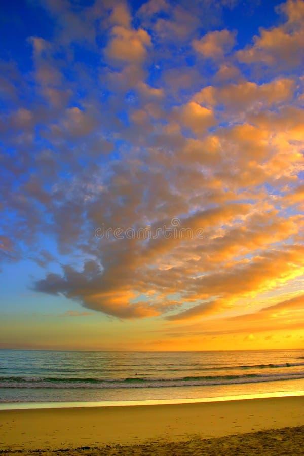 Costa da luz do sol, Austrália fotografia de stock royalty free
