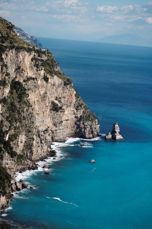 Costa de Amalfi imagem de stock