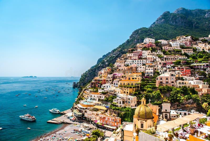 Costa de Amalfi fotografía de archivo libre de regalías