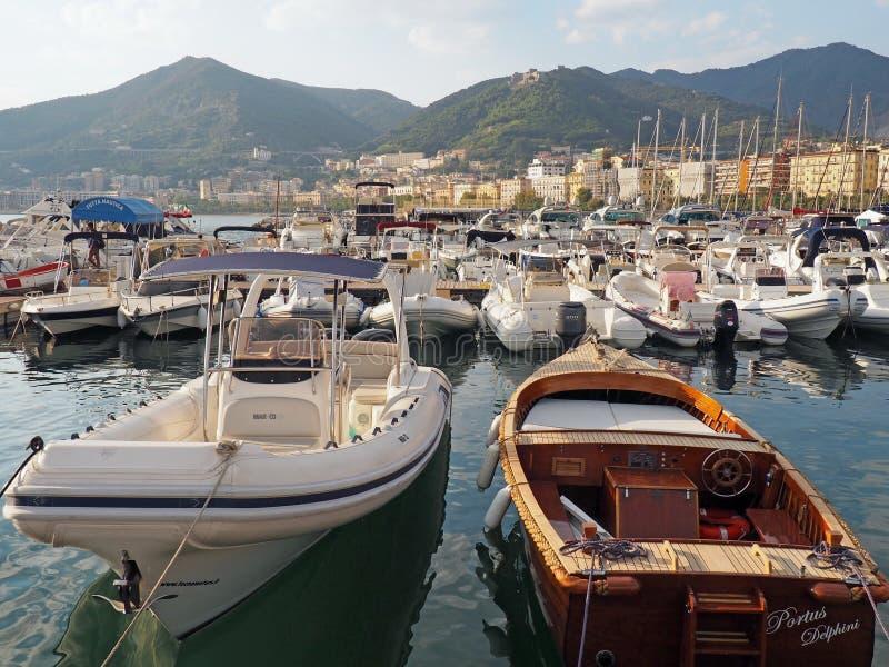 A costa de Amalfi fotografia de stock