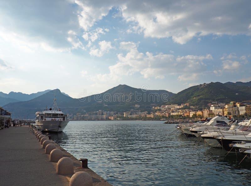 A costa de Amalfi fotografia de stock royalty free