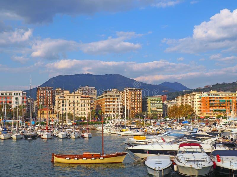 A costa de Amalfi imagem de stock