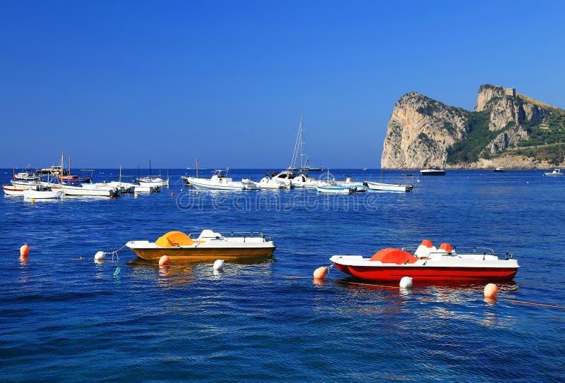 Costa de Amalfi, Itália, Europa imagem de stock
