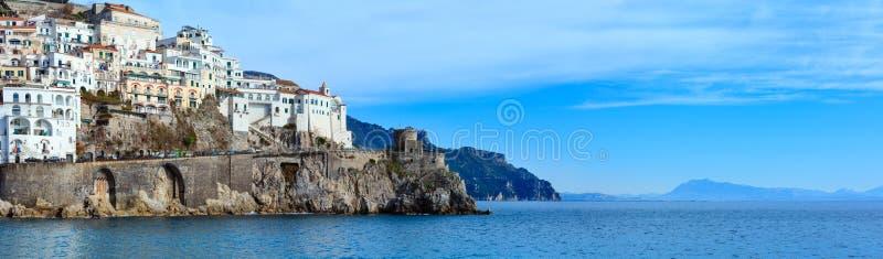 Costa de Amalfi, Italia imagen de archivo