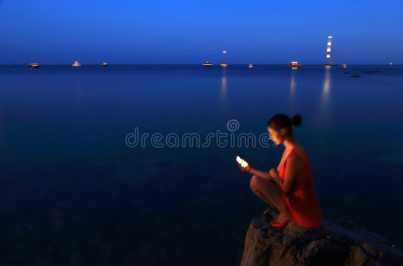 Costa de Amalfi, Italia, Europa foto de archivo libre de regalías