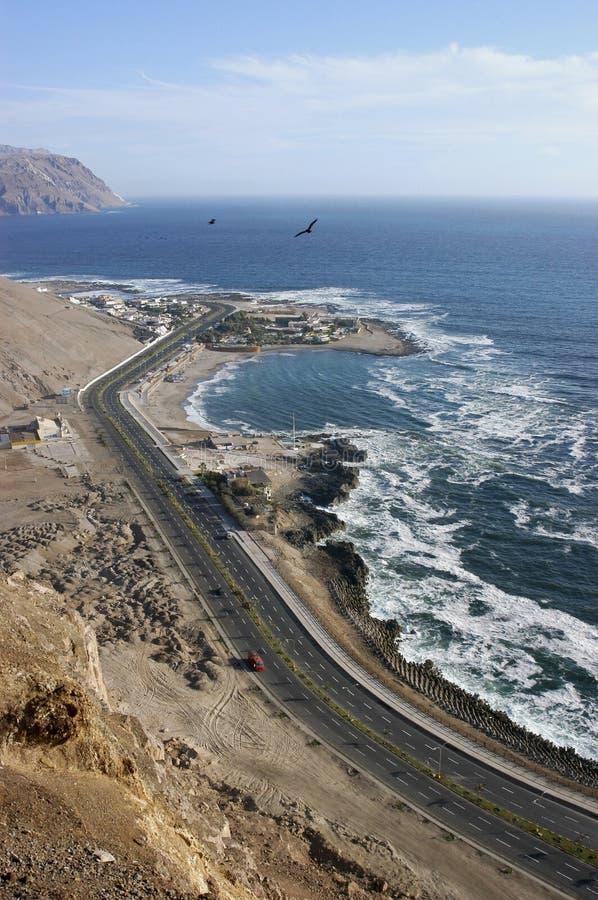Costa de Arica imágenes de archivo libres de regalías