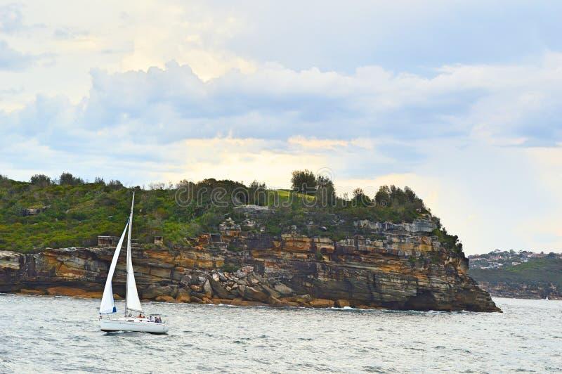 Costa de Aussi imagem de stock royalty free