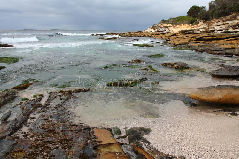 Costa de Australia imagenes de archivo