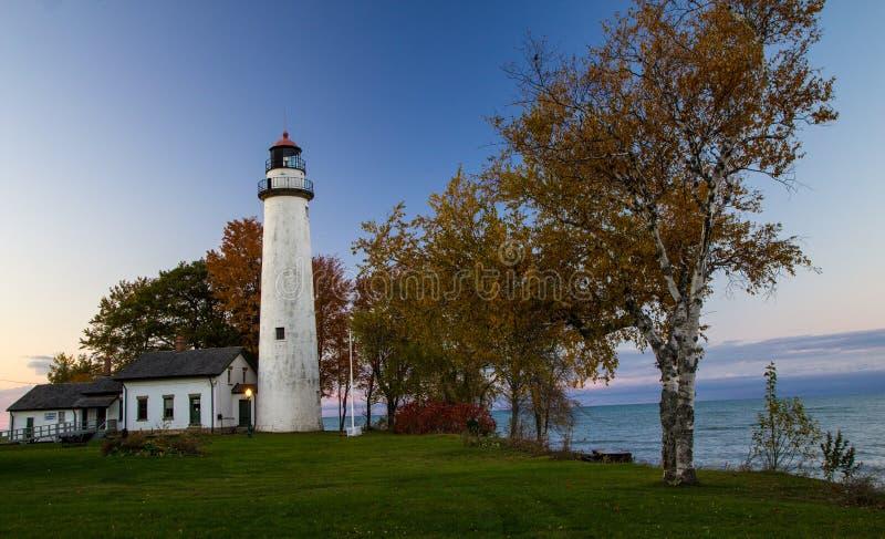 Costa de Autumn On The Great Lakes fotos de stock royalty free