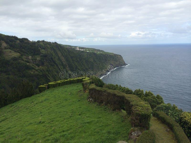 Costa de Azores foto de archivo