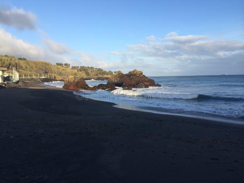 Costa de Azores imagen de archivo