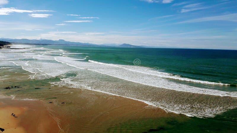 Costa de Basque fotos de stock royalty free
