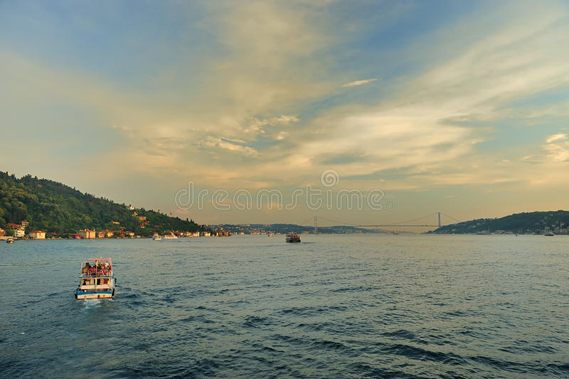 Costa de Bosphorus-2 fotografia de stock royalty free