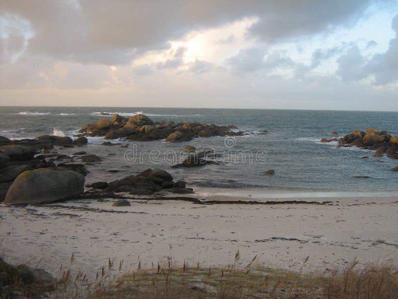 Costa de Bretaña imagen de archivo libre de regalías