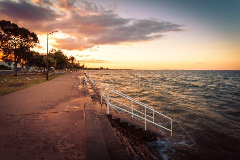 Costa de Brisbane, Austrália imagem de stock royalty free