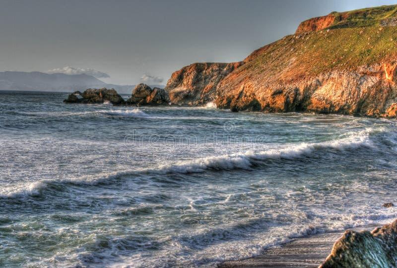 Costa de Califórnia imagem de stock royalty free