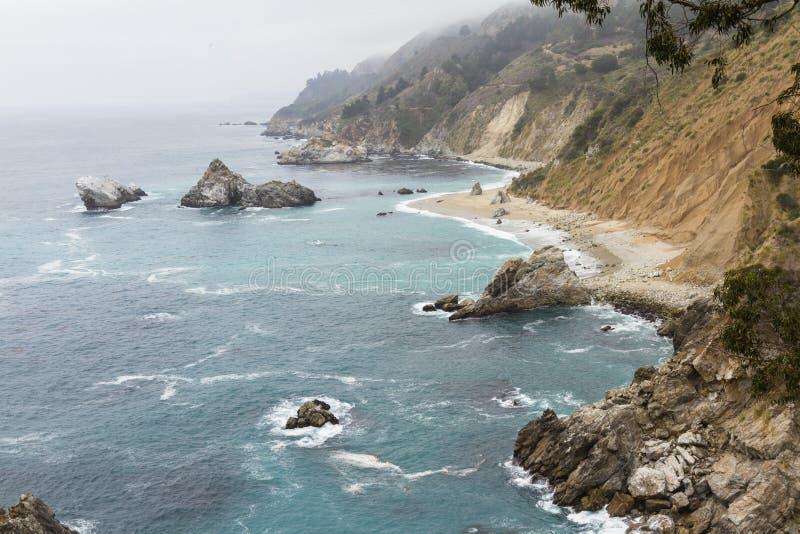 Costa de California fotografía de archivo libre de regalías
