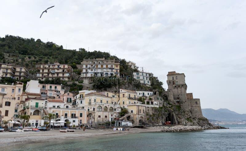 Costa de Cetara Amalfi fotos de archivo libres de regalías