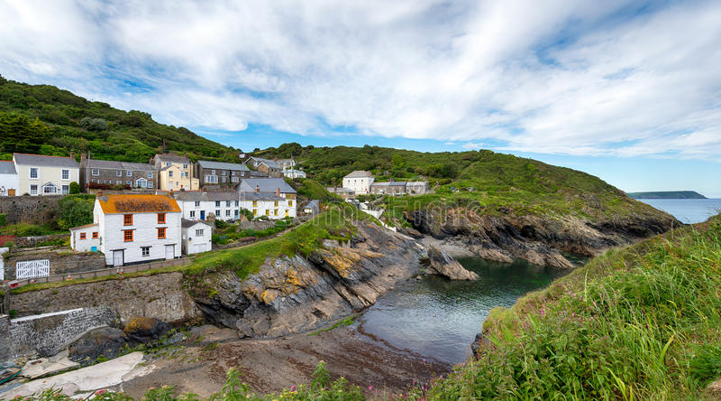 A costa de Cornualha imagens de stock royalty free